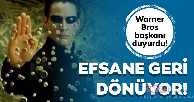 Matrix 4 geliyor! Wachowski Kardeşler efsane için çalışmaya başladı! Keanu Reeves Matrix 4'te...