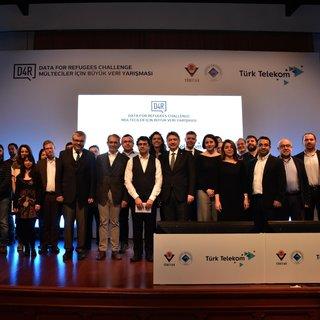 Mülteciler için Büyük Veri yarışmasının kazananları açıklandı