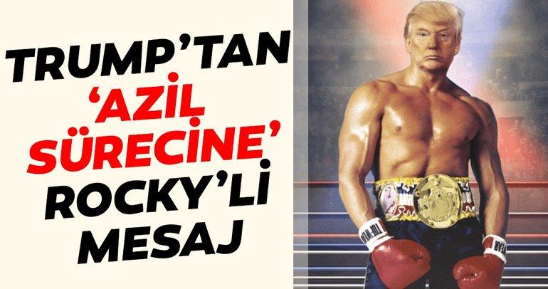 Trump'tan Rocky paylaşımı