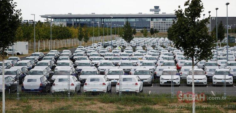 Havalimanı Volkswagen için park yeri oldu