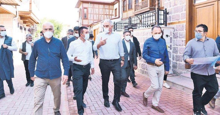 Bakan Mehmet Nuri Ersoy'dan Ankara turu