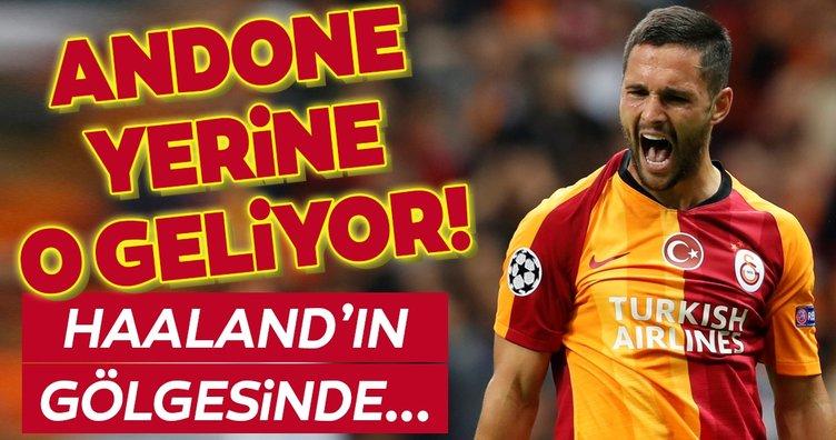 Galatasaray'da Andone'nin yerine o geliyor! Haaland'ın gölgesindeydi...