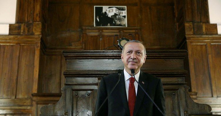 Erdoğan'dan Hakimiyet Milletindir mesajı
