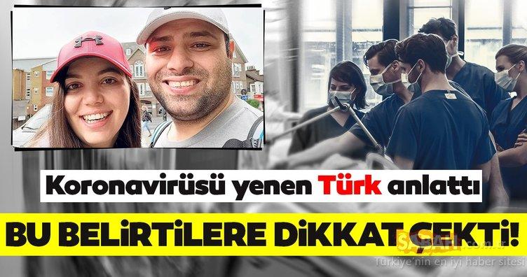Son dakika haberleri: Corona virüsü yenen Türk anlattı, gündeme bomba gibi düştü! Corona virüsü belirtileri için...