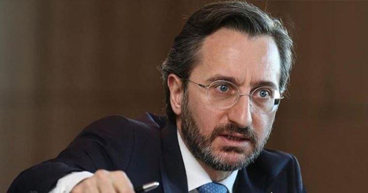 İletişim Başkanı Altun'dan Reuters'in haberine tepki: Her ikisi de yalan!