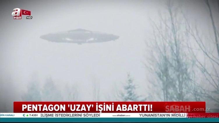 ABD Savunma Bakanlığı ilk kez UFO görüntüleri yayınladı!