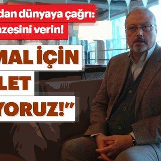 Turan Kışlakçı'dan Cemal Kaşıkçı açıklaması: Cemal Kaşıkçı için adalet istiyoruz