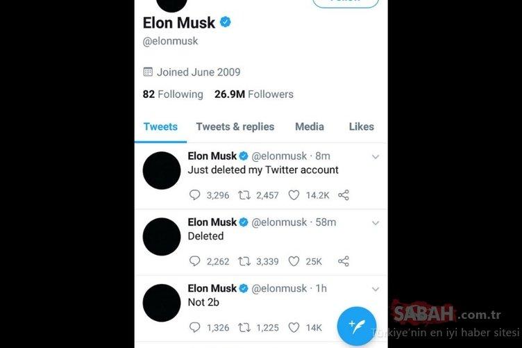 Elon Musk Twitter hesabını kapattı! Musk neden hesabını kapatma kararı aldı?