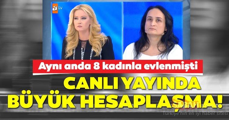 Müge Anlı'nın programında 8 kadınla aynı anda evlenen adamdan son dakika açıklaması: Sözleri şoke etti!