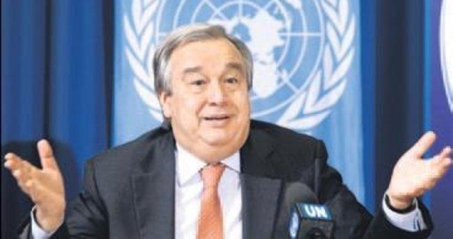 BM'nin yeni genel sekreteri Guterres