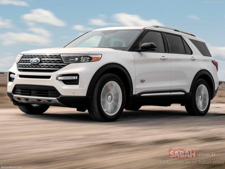 2021 Ford Explorer King Ranch sonunda ortaya çıktı! Uzun zamandır bekleniyordu