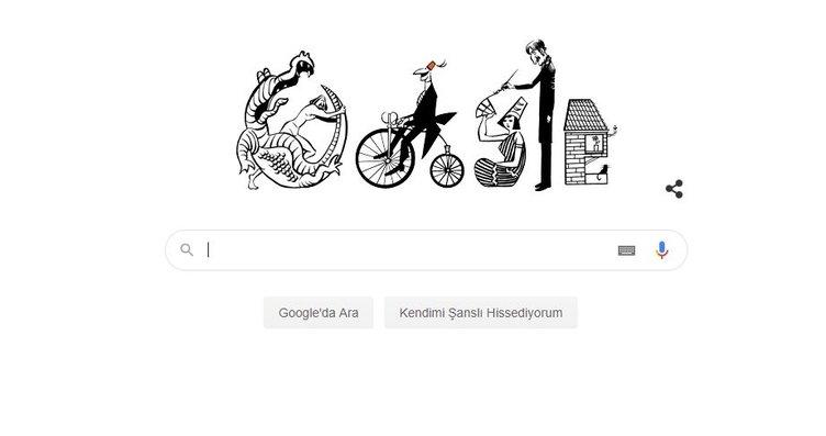 Google'dan Doodle sürprizi: Turhan Selçuk Google...