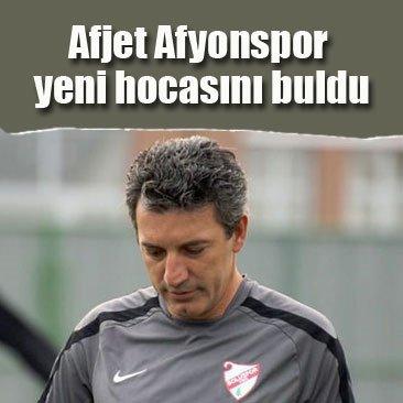 Afjet Afyonspor yeni hocasını buldu