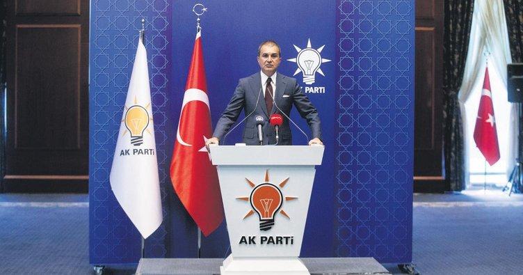 AK Parti sözcüsü Ömer Çelik: Türk donanmasıyla şaka olmaz