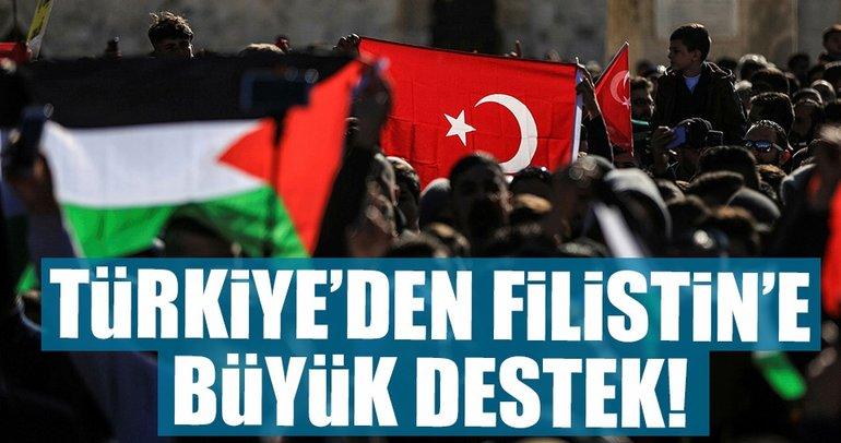 Türkiyeden Filistine 10 milyon dolar hibe
