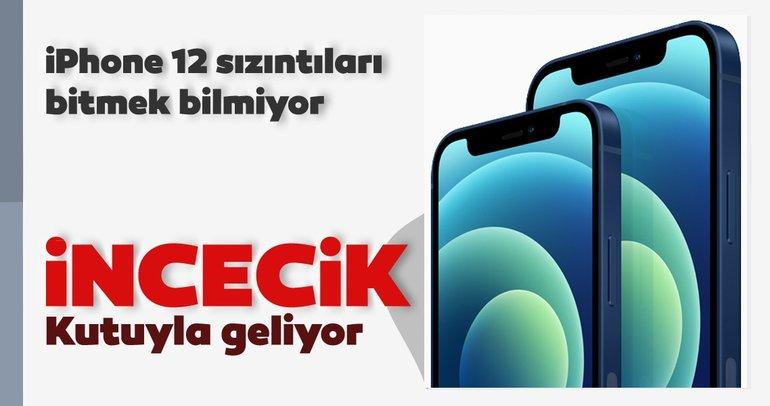 iPhone 12 incecik kutuyla geliyor! iPhone 12 serisinin Türkiye fiyatları ve özellikleri nedir?