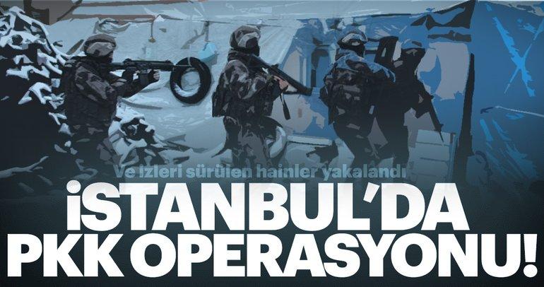 İstanbul'da PKK operasyonu: 8 örgüt üyesi yakalandı!