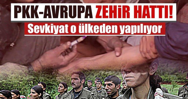 PKK uyuşturucu sevkiyatını Belçika'dan yapıyor