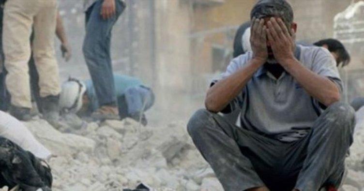 Esed güçlerinden Hama'ya ölümcül hava saldırısı