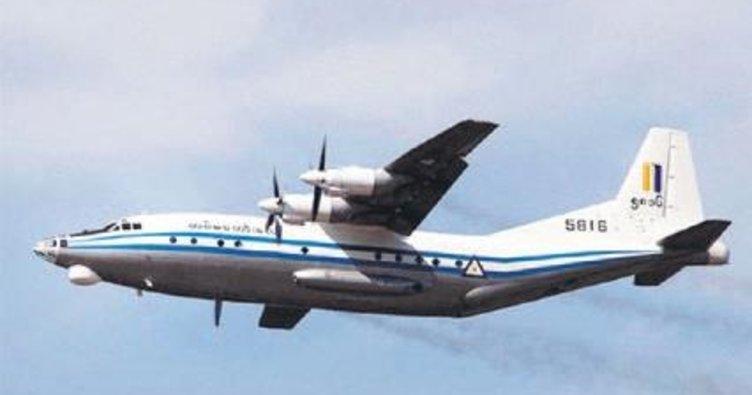 Uçak denize çakıldı 120 kişi kayboldu