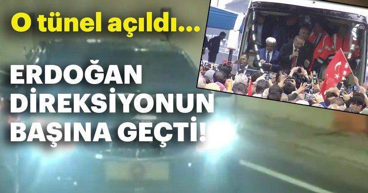 Cumhurbaşkanı Erdoğan Ovit Tüneli'nin açılışında konuştu...