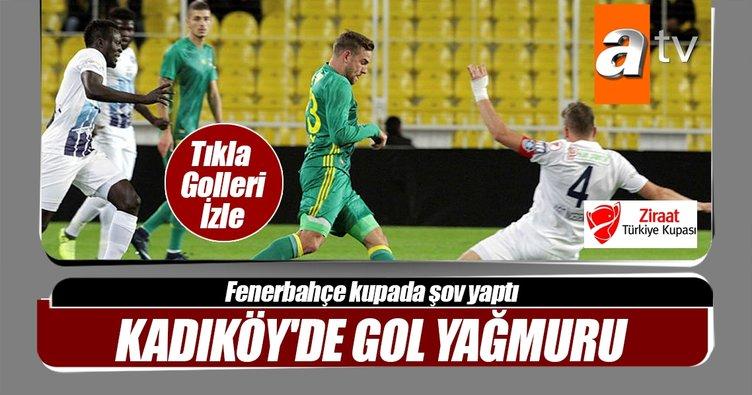 Fenerbahçe'den Adana Demirspor'a gol yağmuru