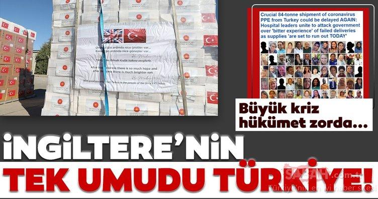 İngiltere bütün umudunu Türkiye'ye bağladı! İngiltere'de Türkiye manşetleri...