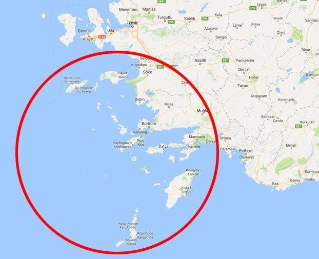 İşte Erdoğan'ın Lozan'la verdik dediği adalar