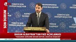 Son dakika! Hazine ve Maliye Bakanı Berat Albayrak'tan flaş enflasyon ve faiz mesajı | Video