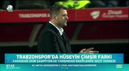 Trabzonspor'da Hüseyin Çimşir farkı ortaya koydu