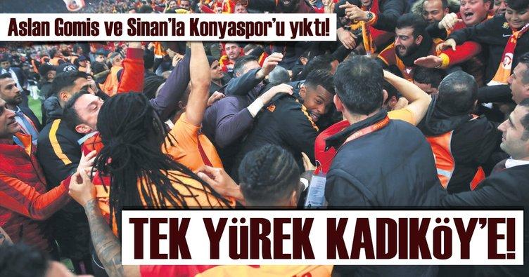Tek yürek Kadıköy'e