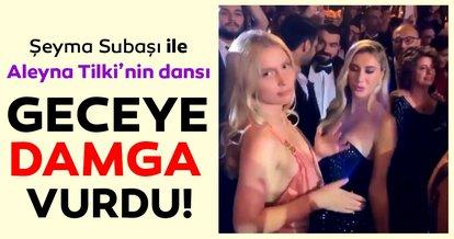 Şeyma Subaşı ile Aleyna Tilki'den görkemli düğünde olay dans! Magazin gündemine son dakika olarak düştü.