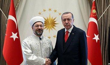 Cumhurbaşkanı Erdoğan'ın kabulü