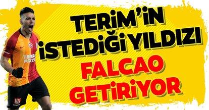 Fatih Terim'in istediği yıldızı Falcao getirecek!