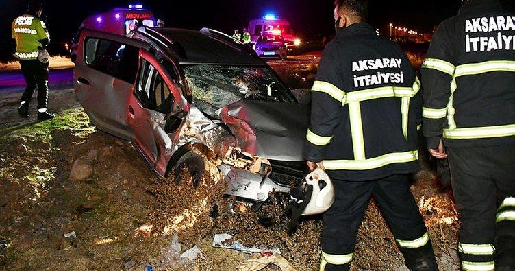 Sokağa çıkma kısıtlamasında kaza: 5 yaralı