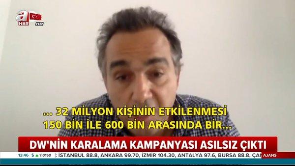 Alman Deutsche Welle'nin Türkiye'yi karalamaya çalışan yalan haberi böyle deşifre oldu | Video
