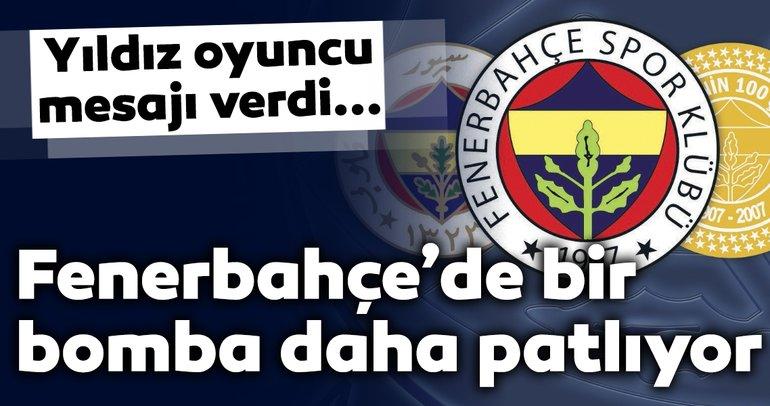 Fenerbahçe'de bir transfer bombası daha patlıyor! Yıldız oyuncu resmen açıkladı