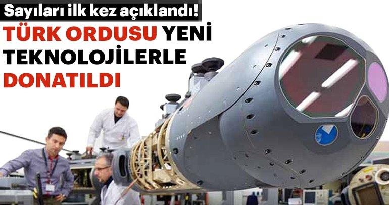 Türk donanması yeni teknolojilerle donatıldı