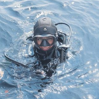 Marmara Denizi ndeki mercanlar için daliş yaptı