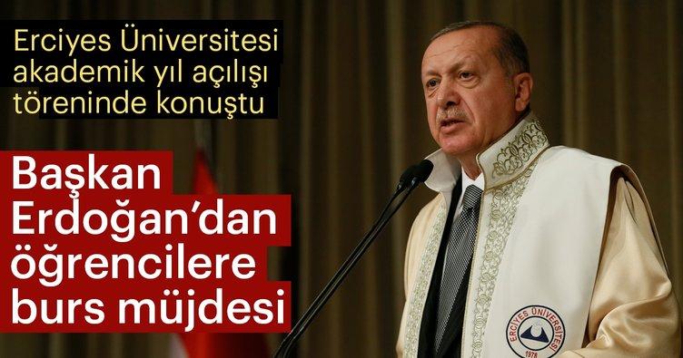 Başkan Erdoğan: Üniversiteyi öğrencinin ayağına götürdük