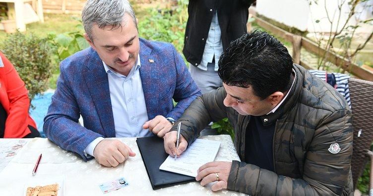 AK Parti İstanbul'dan 100 bin yeni üye hamlesi