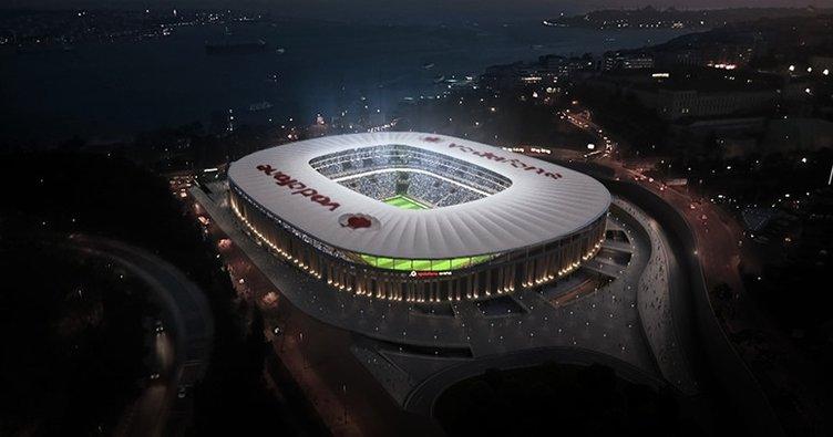 Vodafone Arena'nın yeni ismi belli oldu
