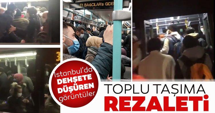 İstanbul'da toplu taşıma rezaleti tam gaz sürüyor!