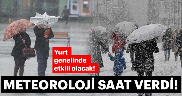 Meteoroloji Genel Müdürlüğü'nden son dakika hava durumu ve yağış uyarısı! İstanbul'a kar ne zaman yağacak?