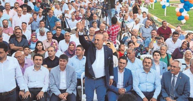 Çavuşoğlu'dan 'bayram' turu