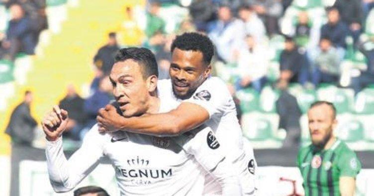 Antalyaspor gaza bastı