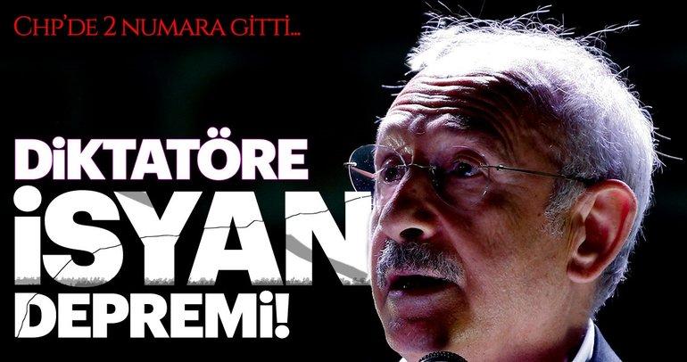 CHP'de Kılıçdaroğlu diktasına isyan!