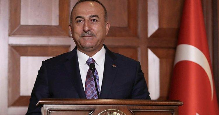 Dışişleri Bakanı Çavuşoğlu Fransız mevkidaşıyla telefonda görüştü