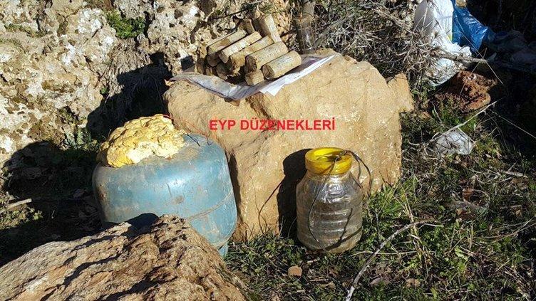 PKK'lıların yerleştirdiği bomba imha böyle edildi!