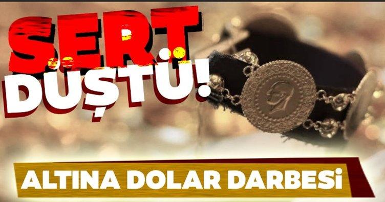 Altın fiyatları çakıldı! Altına dolar darbesi: Altın düşüşünü sürdürecek mi?